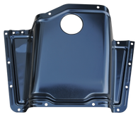 This new high hump transmission cover fits 1960-1962 Chevrolet and GMC Pickup Trucks.