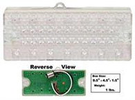 This passengers side clear LED park lamp assembly goes in the grille of your 1969-70 Chevrolet and GMC Pickup Truck.