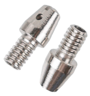 Replace your rusty, worn out windshield washer nozzles with this new reproduction set! This windshield washer nozzle set of 2 fits 1955-59 Chevrolet and GMC Pickup Trucks.