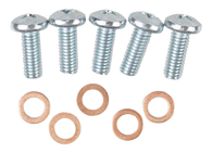 This fuel sending unit screw kit, with copper crush washers, fits 1955-1959 Chevrolet and GMC Pickup Trucks.