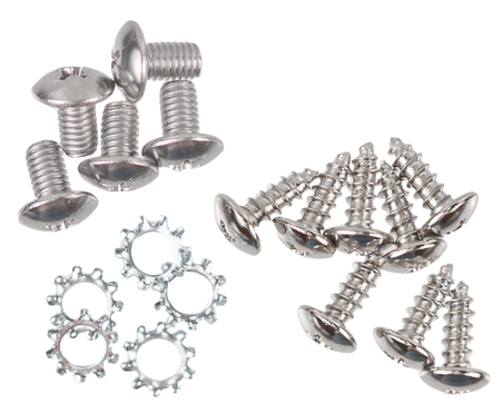 This glove box screw kit fits 1955-1972 Chevrolet and GMC Pickup Trucks.