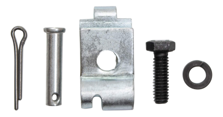 This 5 piece parking brake cable retainer kit fits 1960-1968 Chevrolet and GMC Pickup Trucks, Suburbans and Panels.