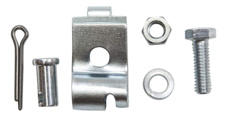This 5 piece parking brake cable retainer kit fits 1969-72 Chevrolet and GMC Pickup Trucks, Jimmy's, Suburbans and Panels.