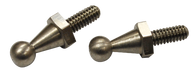 This set of two gas pedal ball studs fits 1964-1970 Chevrolet Pickup Trucks, Suburbans and Blazers and GMC Pickup Trucks, Suburbans, and Jimmys.