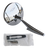 """This universal 4.5"""" round, chrome plated, sport mirror with embossed BOWTIE logo fits any Chevrolet Car of Truck. This mirror comes with gasket and universal mounting hardware that can be used on the driver or passengers side of the vehicle. 2 required per vehicle."""