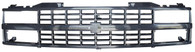 This black paintable grille fits 1988-93 C/K Series Pickups and 1992-93 Suburbans and Blazers with composite or dual headlights.