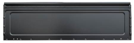 This restoration grade (1.6mm) front bed panel fits 1973-1984 Chevrolet and GMC Fleeetside Pickups with steel bed floors.