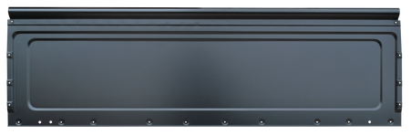 This all new design, year specific, restoration grade (1.6mm) front bed panel fits 1985-1987 Chevrolet and GMC Fleeetside Pickups with steel bed floors.