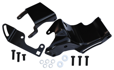This power steering pump bracket kit fits 1967-1972 Chevrolet and GMC Pickup Trucks, Blazers and Suburbans with 230 or 250 CID engine. NOTE: THIS KIT WILL NOT FIT THE 292CIG ENGINE OR ENGINES WITH THE INTAKE MANIFOLD CAST INTO THE HEAD!!  THIS KIT MAY ALSO FIT GM CARS, AND EARLIER TRUCKS, WITH 194, 230, 250 ENGINES.
