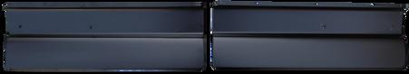 This fleetside rear gravel shield set fits 1967-1972 Chevrolet and GMC Pickup Trucks.