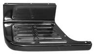 This short bed bedside step plate, driver's side fits 1967-1972 Chevrolet Pickup Truck and 1967-1972 GMC Pickup Truck