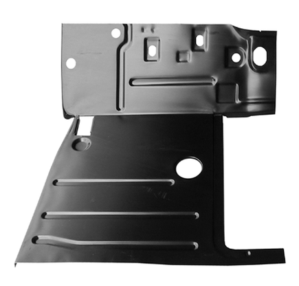This 1st Series cab floor pan, driver's side fits 1947-1955 Chevrolet Pickup Truck and 1947-1955 GMC Pickup Truck