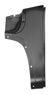 This 1st Series full front cowl panel, driver's side fits 1947-1955 Chevrolet Pickup Truck and 1947-1955 GMC Pickup Truck