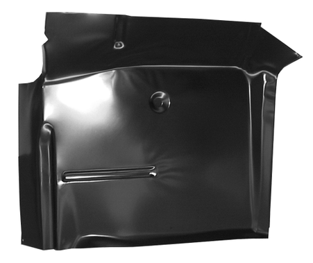 This cab floor pan, driver's side fits 1967-1972 Chevrolet and GMC Pickup Truck