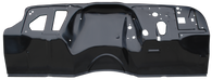 This complete replacement firewall or dash & toe panel fits 1969-1972 Chevrolet and GMC Pickup Trucks