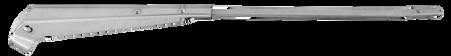 This windshield wiper arm L=R fits 1967-1972 Chevrolet and GMC Pickup Trucks