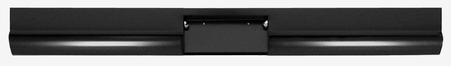 This fleetside roll pan, with license cut-out and license lights cut-out, fits 1967-1972 Chevrolet and GMC Pickup Trucks