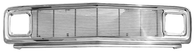 This chromed steel grille assembly with 4mm billet insert fits 1969-1972 Chevrolet Pickup Truck