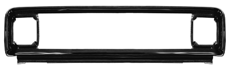 This painted steel grille outer frame fits 1971-1972 Chevrolet Pickup Trucks