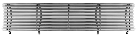 This chromed steel 8mm grille billet insert fits 1971-1972 Chevrolet Pickup Truck (will fit 1969-1970 outer grille frame)