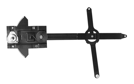 This window regulator, driver's side fits 1967-1971 Chevrolet and GMC Pickup Trucks