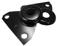 These front fender lower rear mounting plates, sold in pairs fits 1967-1972 Chevrolet and GMC Pickup Trucks, and 1969-1972 Chevrolet Blazer and Suburban