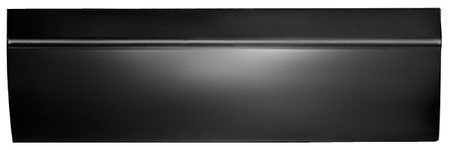 This lower door skin, driver's side fits 1967-1972 Chevrolet and GMC Pickup Trucks