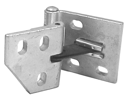 This upper door hinge, passenger's side fits 1967-1972 Chevrolet and GMC Pickup Trucks