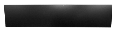This lower door skin, fits driver and passenger's side fits 1960-1966 Chevrolet and GMC Pickup Trucks