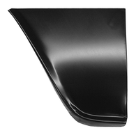 This lower rear fender section, driver's side fits 1960-1966 Chevrolet and GMC Pickup Trucks