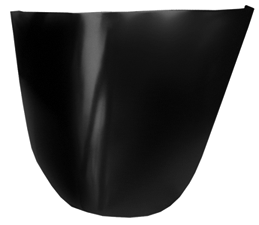 This 1st Series lower front fender section, passenger's side fits 1947-1955 Chevrolet and GMC Pickup Trucks
