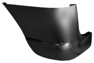This 1st Series front fender, lower rear section, driver's side fits 1947-1955 Chevrolet and GMC Pickup Trucks