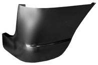 This 1st Series front fender, lower rear section, passenger's side fits 1947-1955 Chevrolet and GMC Pickup Trucks