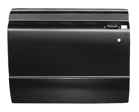 This full door skin, driver's side fits 1967-1972 Chevrolet and GMC Pickup Trucks