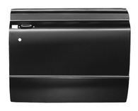 This full door skin, passenger's side fits 1967-1972 Chevrolet and GMC Pickup Trucks