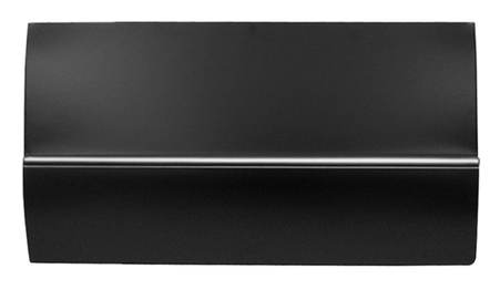 This extended lower door skin, driver's side fits 1967-1972 Chevrolet and GMC Pickup Trucks