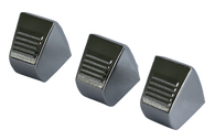 These heater control knobs, 3 pcs, fit 1967-72 Chevrolet and GMC pickup trucks and Suburbans.