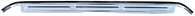 This universal polished stainless steel door sill, sold separately, fits 1967-1972 Chevrolet and GMC Pickup Trucks,  1967-1972 Chevrolet Blazer and Suburbans