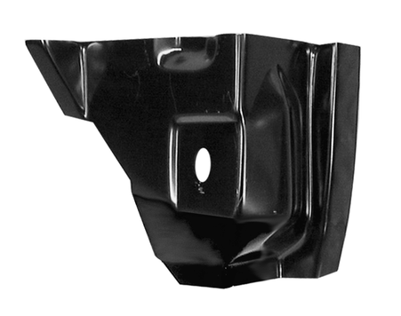 This 2nd Series front pillar pocket outer section, driver's side fits 1955-1959 Chevrolet and GMC Pickup Trucks