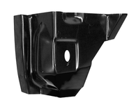 This 2nd Series front pillar pocket outer section, passenger's side fits 1955-1959 Chevrolet and GMC Pickup Trucks