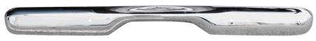 This 2nd Series chrome front bumper fits 1955-1959 Chevrolet and GMC Pickup Trucks