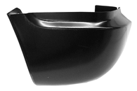 This front lower fender section, or fender cup, passenger's side only fits 1967-1972 Chevrolet and GMC Pickup Trucks