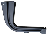 This driver's side bedside step support brace fits 1955-1959 Chevrolet and GMC Pickup Trucks