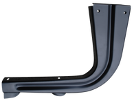 This passenger's side bedside step support brace fits 1955-1959 Chevrolet and GMC Pickup Trucks