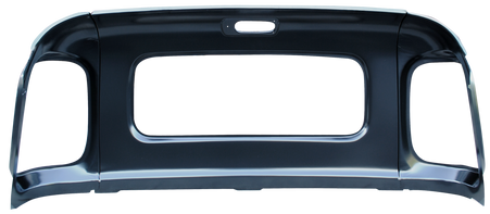 This rear upper inner panel, 5 window fits 1947-1954 Chevrolet and GMC Pickup Trucks