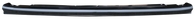 This upper grille filler bar fits 1955-1956 Chevrolet and GMC Pickup Trucks