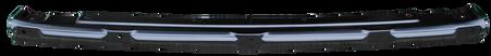 This upper grille filler bar fits 1957 Chevrolet Pickup Trucks