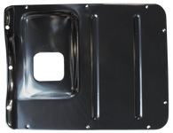 This 1st series transmission cover, 4-speed fits 1947-1955 Chevrolet and GMC Pickup Trucks
