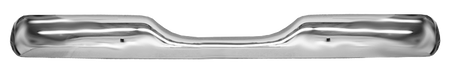 This 2nd Series chrome rear bumper fits 1955-1959 Chevrolet and GMC Pickup Trucks