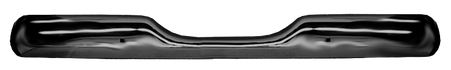 This rear painted stepside bumper, chrome shown fits 1955-1959 Chevrolet and GMC Pickup Trucks